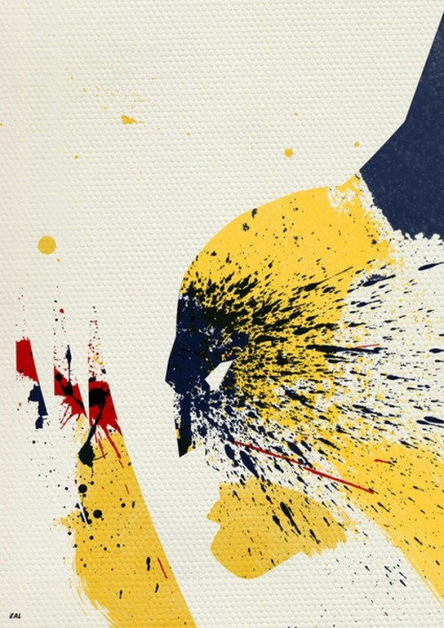 Wolverine-Silhouette